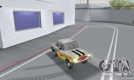 ZAZ 968M esfarrapado para GTA San Andreas vista direita