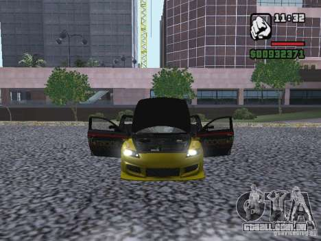 Mazda RX-8 Rockstar para GTA San Andreas vista direita