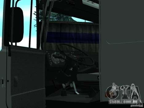 MAZ 5432 para GTA San Andreas vista direita