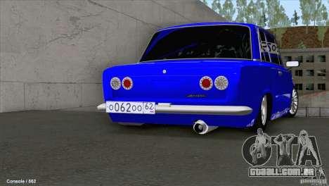 VAZ 2101 Coupe Loui para GTA San Andreas vista direita