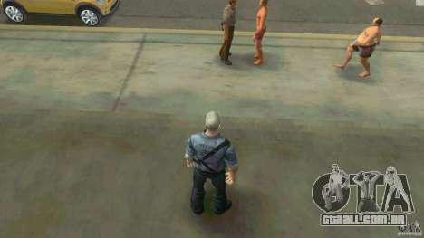 James Earl Cash para GTA Vice City segunda tela