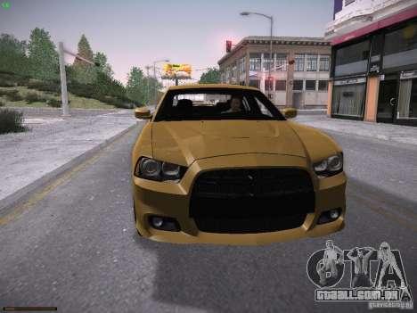 Dodge Charger SRT8 2012 para GTA San Andreas esquerda vista
