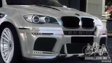 BMW X6 Hamann para GTA 4 esquerda vista