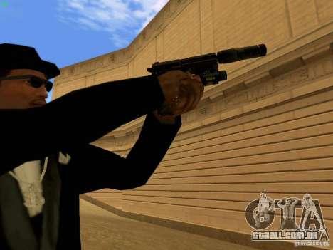 USP45 Tactical para GTA San Andreas sexta tela