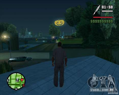 Happy Halloween Mod para GTA San Andreas segunda tela