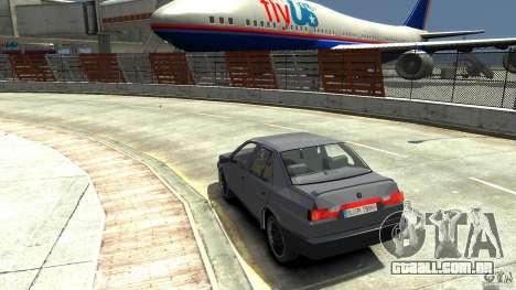 Alfa Romeo 155 para GTA 4 traseira esquerda vista