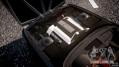 BMW 5 Series E34 540i 1994 v3.0 para GTA 4 vista inferior