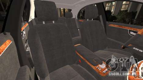 Mercedes-Benz S W221 Wald Black Bison Edition para GTA 4 vista interior