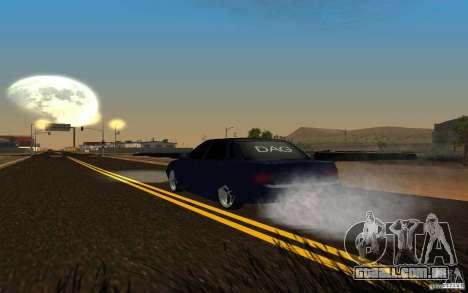 LADA PRIORA carro tuning para GTA San Andreas vista traseira