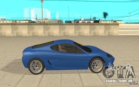 Turismo de GTA 4 para GTA San Andreas esquerda vista