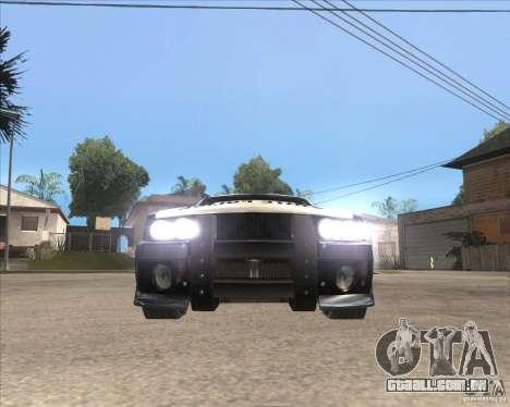 Police NFS UC para GTA San Andreas esquerda vista