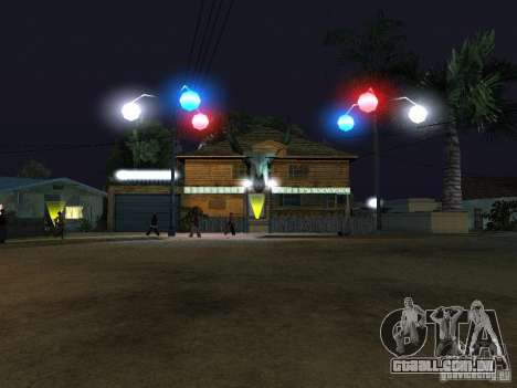A nova Grove Street para GTA San Andreas décimo tela