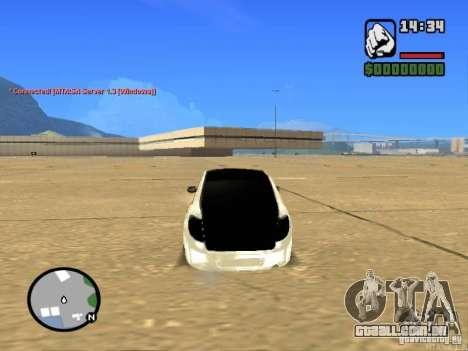 Estilo de Grant JDM 2190 VAZ para GTA San Andreas traseira esquerda vista
