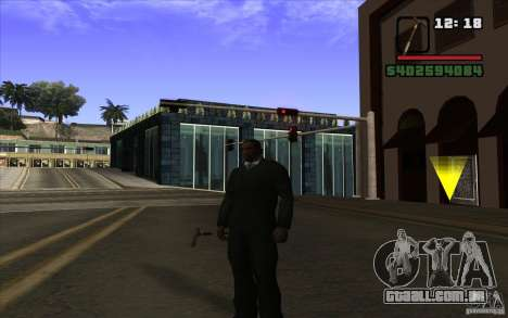 Cana-de-Nova para GTA San Andreas segunda tela