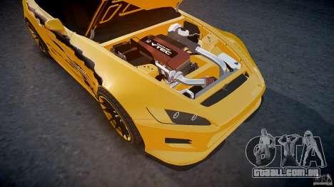 Calma Honda S2000 Tuning 2002 3 pele para GTA 4 interior