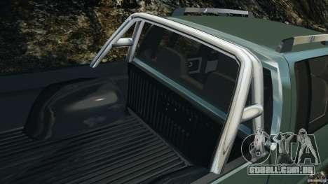 Chevrolet S-10 Colinas Cabine Dupla para GTA 4 rodas