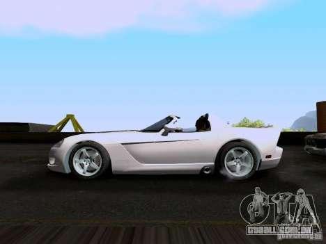 Dodge Viper SRT-10 Custom para GTA San Andreas esquerda vista