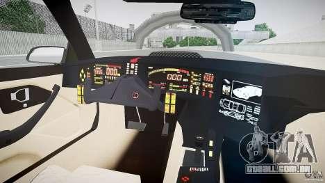 Knight Rider [EPM] para GTA 4 vista de volta