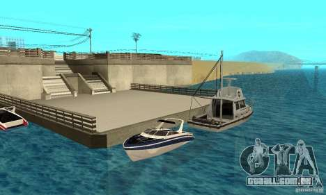 GTAIV Tropic para vista lateral GTA San Andreas
