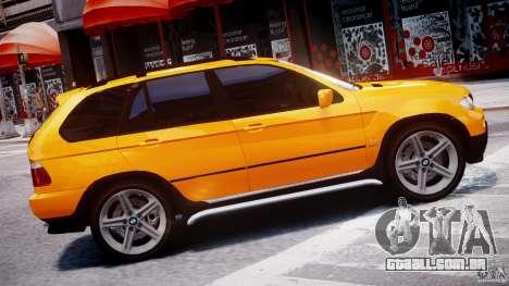 BMW X5 E53 v1.3 para GTA 4 esquerda vista