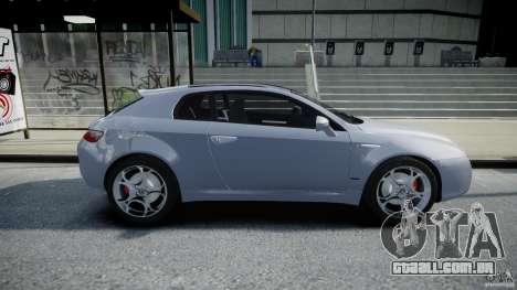 Alfa Romeo Brera Italia Independent 2009 para GTA 4 vista interior