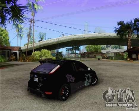 Ford Focus RS para GTA San Andreas vista traseira