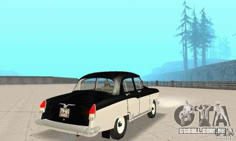Volga GAZ-21 para GTA San Andreas esquerda vista