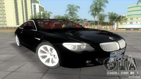 BMW 645Ci para GTA Vice City