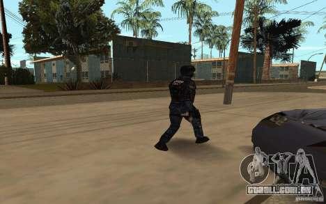 Alternative urban para GTA San Andreas por diante tela