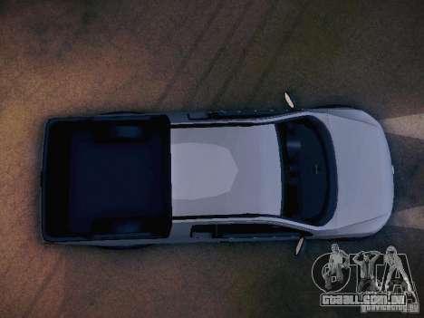 Volkswagen Saveiro Cross para GTA San Andreas vista superior