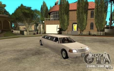 Stretch - GTA IV para GTA San Andreas vista traseira