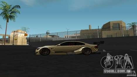 BMW E92 M3 para GTA San Andreas esquerda vista