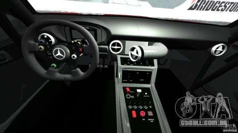 Mercedes-Benz SLS AMG GT3 2011 v1.0 para GTA 4 vista de volta