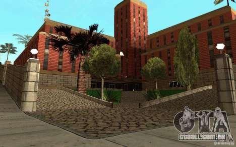 Novas texturas para o hospital em Los Santos para GTA San Andreas