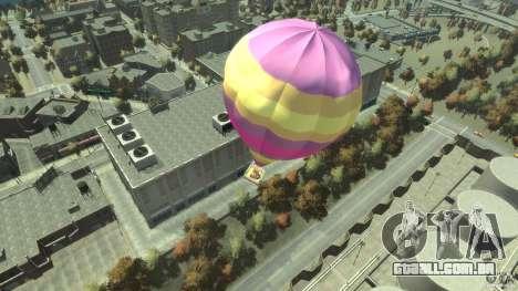 Balloon Tours option 9 para GTA 4 traseira esquerda vista