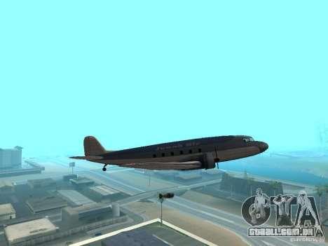 Bombas para os aviões para GTA San Andreas quinto tela