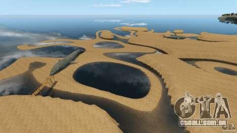 Deserto de Gobi para GTA 4 sétima tela