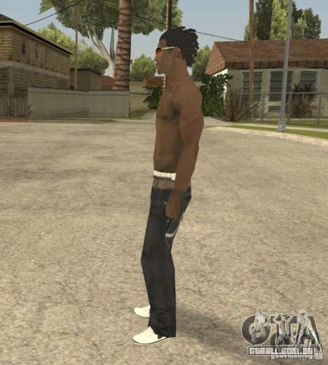 Afro-American Boy para GTA San Andreas segunda tela