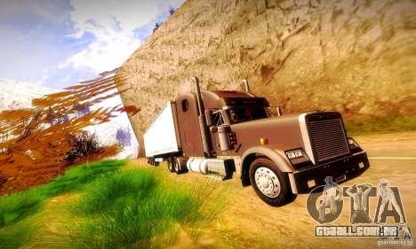 Freightliner Classic XL para GTA San Andreas vista interior