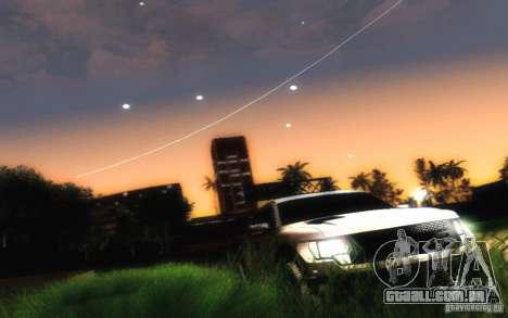 Ford Raptor Crewcab 2012 para GTA San Andreas vista traseira