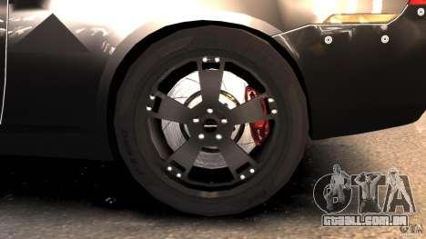 NFSOL State Police Car para GTA 4 vista de volta