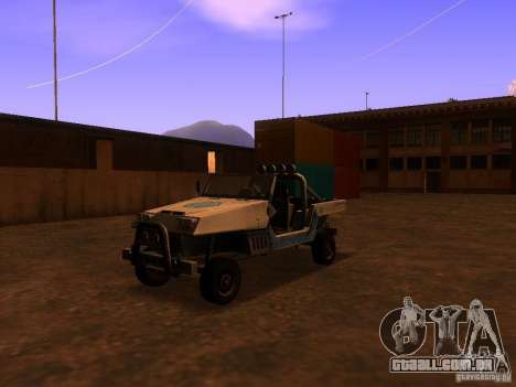 Carrinha pickup de T3 para GTA San Andreas