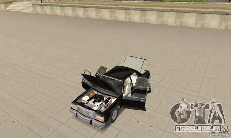 Ford LTD Crown Victoria 1985 MIB para GTA San Andreas vista traseira