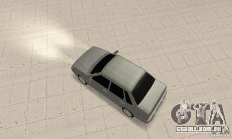 TUN VAZ 2115 para GTA San Andreas traseira esquerda vista