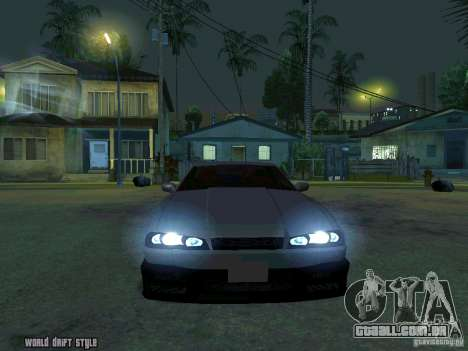 ELEGY BY CREDDY para GTA San Andreas vista traseira