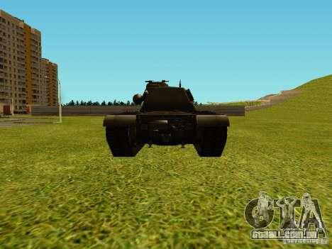 T-110E5 para GTA San Andreas vista direita