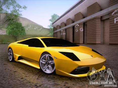 Lamborghini Murcielago LP640 para GTA San Andreas vista interior
