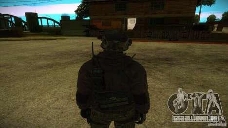 Sandman para GTA San Andreas segunda tela