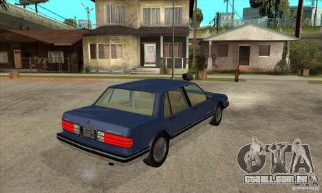 Pontiac Bonneville 1989 para GTA San Andreas vista direita