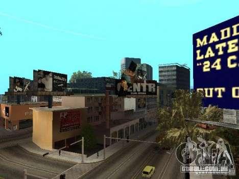 Rep trimestre v1 para GTA San Andreas sétima tela